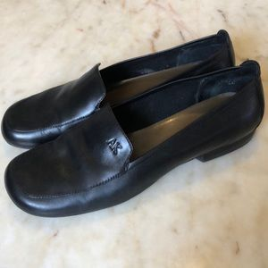 ANNE KLEIN Mamorella Leather Loafers